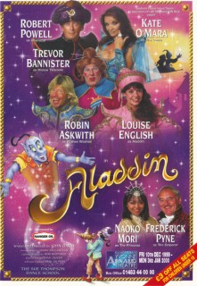 Aladdin Guildford Paul Ferris