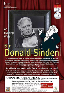 Donald Sinden Paul Ferris