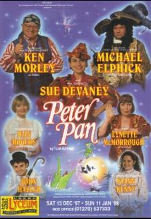 Peter Pan Crewe Paul Ferris