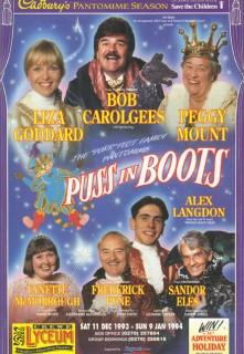 Puss In Boots Crewe Paul Ferris